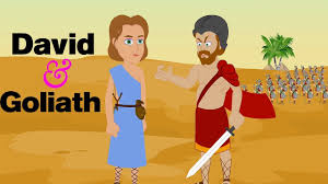 david and goliath the bible story for kids children christian