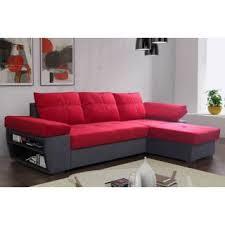 canapé angle anthracite canapé d angle gigogne au meilleur prix canapé d angle gigogne