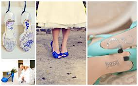 wedding shoes blue how to choose the blue wedding shoes weddbook