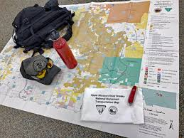 Montana Hunting Maps by Missouri Breaks Monument Transportation Map Available For Hunters