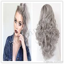 gray hair pieces for american ombre grey wig 100 human hair lace front glueless natural black