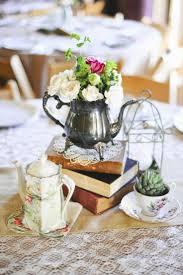 garden tea party decoration with table centerpieces 17 best ideas