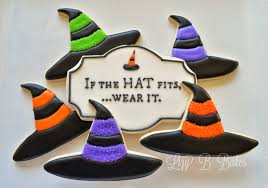lizy b witch hat cookie tutorial