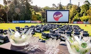 Botanic Gardens Open Air Cinema Moonlight Cinema Adelaide