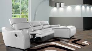 canape cuir relaxation canape design relax cuir slik blanc mobilier cuir