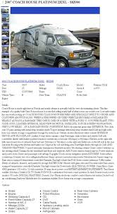 sell a rv tips for selling in rv classifieds