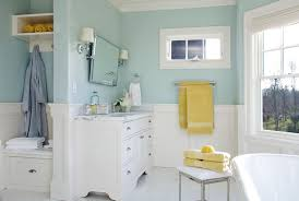 blue and yellow bathroom ideas and blue bathrooms design ideas