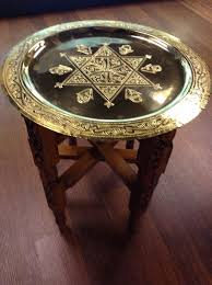 moroccan tea table stand moroccan brass plate table with stand solid wood moroccan and woods