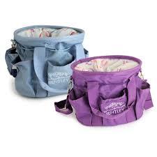 bentley purple bentley equestrian patterns grooming bag