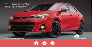 toyota dealer japan the 2016 toyota corolla redesign overview car from japan