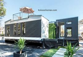 this is a kokoon home kits creation two 8 24 tiny homes built for