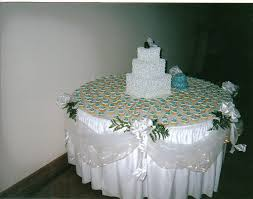 DECORATING THE CAKE TABLE DECORATING THE