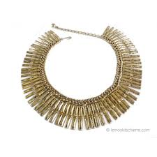 collar necklace style images Vintage egyptian style goldtone collar necklace jpg