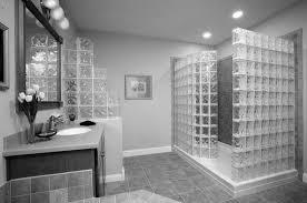 Glass Tile Bathroom Ideas by Bathroom Black And White Shower Tile Bathroom Tiles Gray And