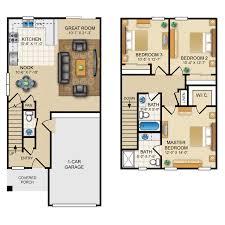 3 floor plans ridge