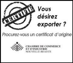 chambre de commerce certificat d origine cci nouvelle beauce avantages commerciaux rabais