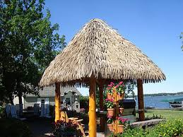 Tiki Hut Material Palmex Artificial Synthetic Palapa Thatch Roofing