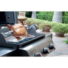 amazon com weber 7614 spirit 200 300 series rotisserie grill