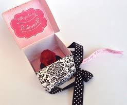 ring pop boxes will you be my bridesmaid ring pop box of honor