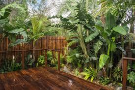 Theme Garden Ideas Small Tropical Theme Home Garden Design To Make Green Environment
