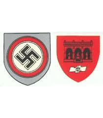 German Flag 1940 M35 M42 German Helmet Decal Sa Decal