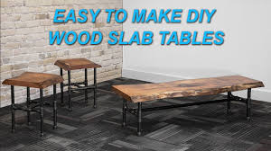 Woodworking Building A Coffee Table by How To Make A Live Edge Wood Slab Coffee Table With Epoxy Inlay