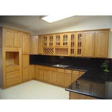 wood kitchen furniture wooden kitchen cabinet at rs 1300 square solid wood