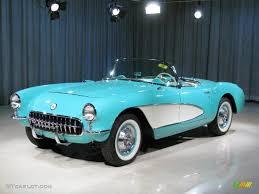 1957 chevrolet corvette convertible 1957 cascade green silver corvette 319 units c1 corvette