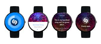 android wear android wear shazam help
