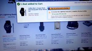 upcoming amazon deals black friday how to get an amazon lightning deal youtube