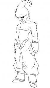 draw kid buu step step dragon ball characters anime