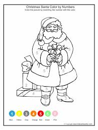 christmas math coloring worksheets koogra