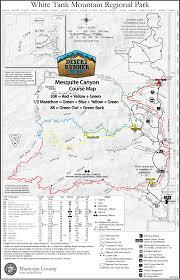 Phoenix Mountain Preserve Map by Mesquite Canyon Trail Runs Ultra Race Aravaipa Running
