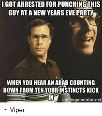 Arab Guy Meme - i got arrested for punchingthis guy at a new years eve party when