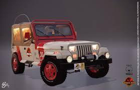 jurassic park tour car ricardo orellana jurassic park jeep