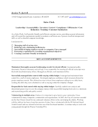 resume sle template resume templates county clerk exles bakery clerk resume sle