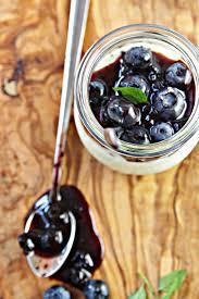 blueberry balsamic panna cotta bell u0027 alimento bell u0027 alimento