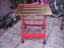 diy portable welding table small welding table any good mig welding forum