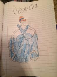 draw disney u0027s cinderella snapguide