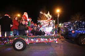 photos yorktown u0027s holiday electric lights parade yorktown ny