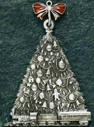 pewter ornaments that are perennial favorites at