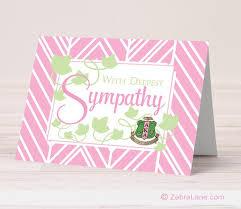 sympathy cards alpha kappa alpha sympathy cards zebra