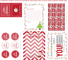 christmas countdown house printables kiki u0026 company