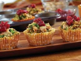 chicken cups make with turkey for thanksgiving