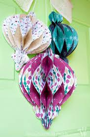 diy paper ornament wreath a houseful of handmade
