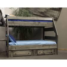 Trendwood High Sierra Twin Over Full Bunk Bed Boulevard Home - Trendwood bunk beds