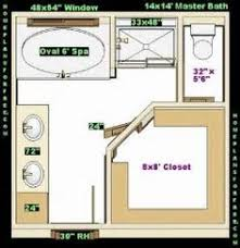 master bathroom layout with walk in closet free his and her walk