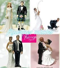 figurine mariage mixte figurines de montée de la plus drole a la plus romantique