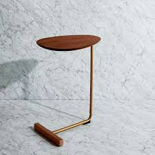 interesting c side table with myles c side table west elm home