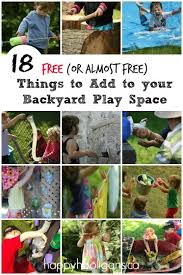 Backyard Play Area Ideas 18 Free Cool Things To Add To A Backyard Playground Happy Hooligans